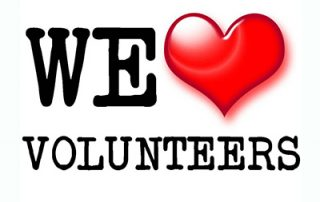 We Love Volunteers