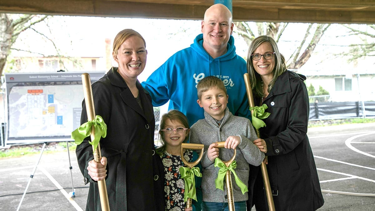 Salem-Keizer Public Schools Breaks Ground at Gubser Elementary School
