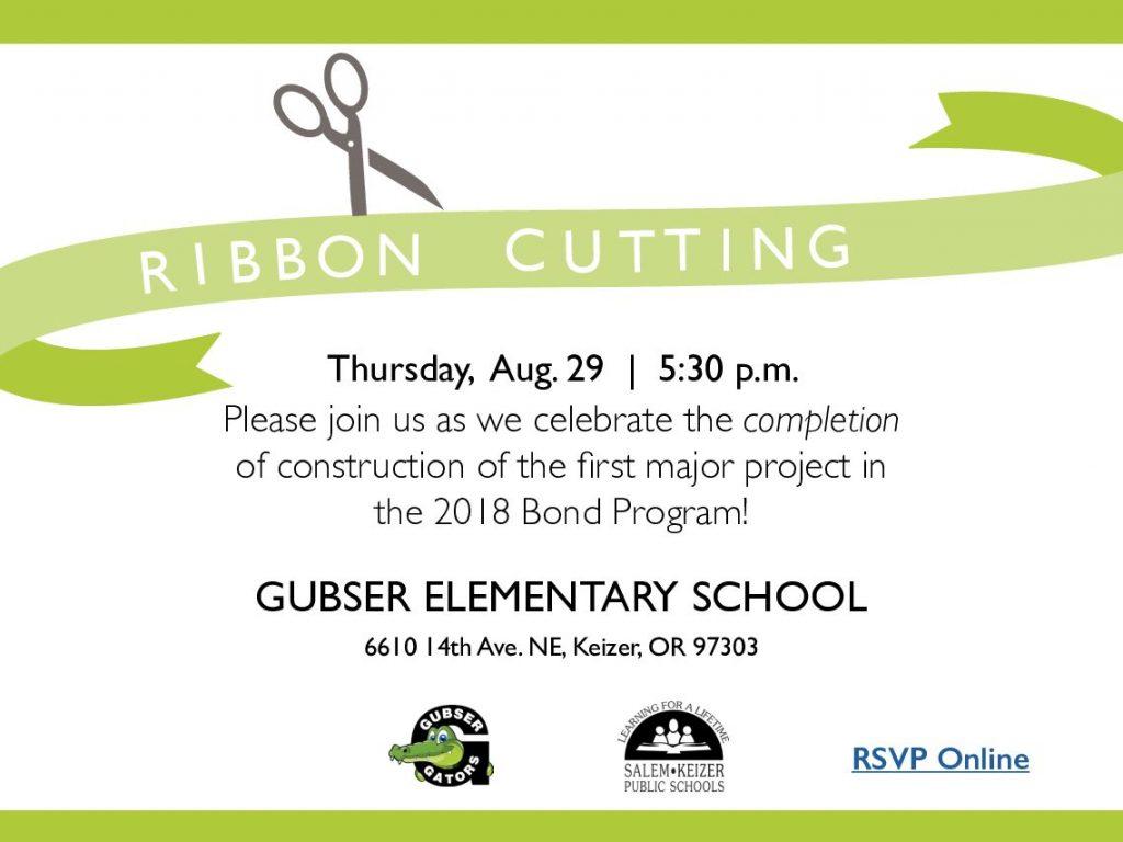 Gusbser Ribbon Cutting